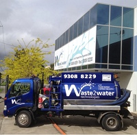 Waste2Water Collection Truck